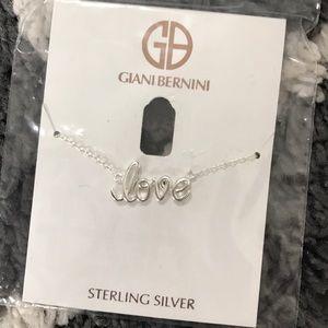 Giani Bernini Jewelry - Giani Bernini love necklace silver